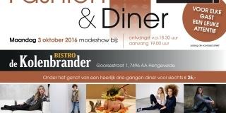 Fashion & Diner 3 oktober 2016
